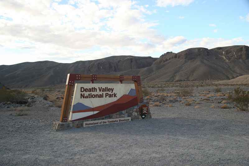 Eastern Entrance to Death Valley