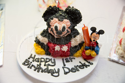 The Party- Derek's 1st Birthday