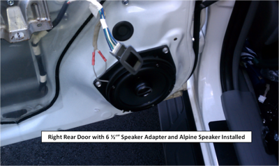 2009 Toyota Tacoma Double Cab Rear Speaker Installation