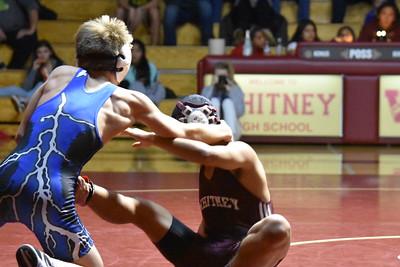 Wrestling Rocklin HS vs Whitney HS -12-1-15