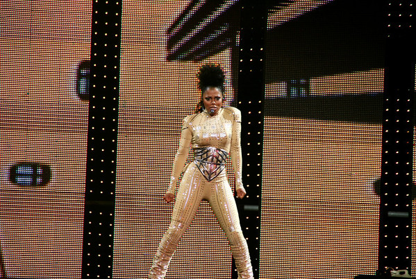 JANET JACKSON ROCKS LOS ANGELES ON 9/17/08 ON NATIONWIDE  ROCK WITCHU TOUR