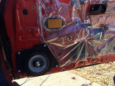 1989 240sx SE Hatchback Front Door Speaker Installation - USA