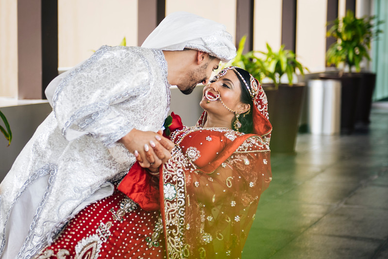 Vandana + John - Wedding  - Moon Palace