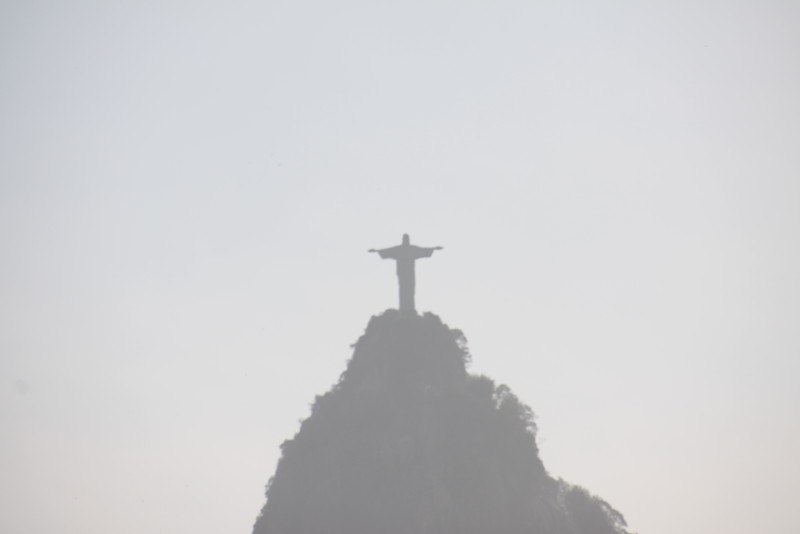 Christ the Redeemer on top of Corcovado