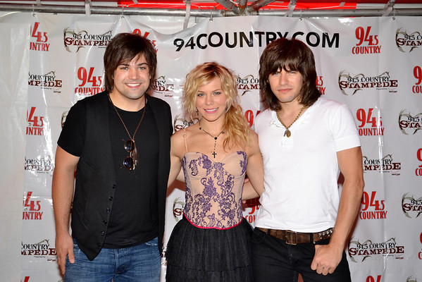 The Band Perry at Country Stampede 2012