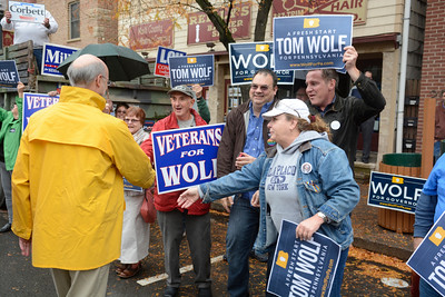 Tom Wolf Bloomsburg campaign stop