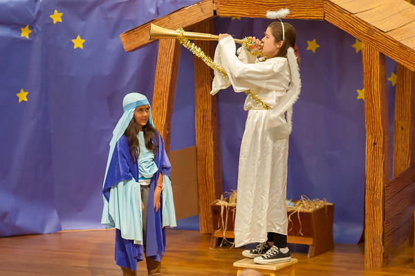 Children's Christmas Play 12-16-2012 9:00 AM Service