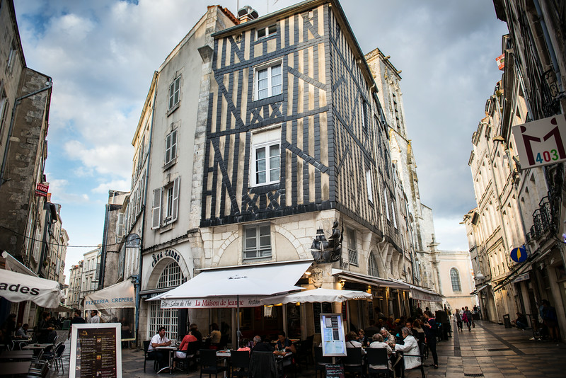 Cafe in Old Town La Rochelle