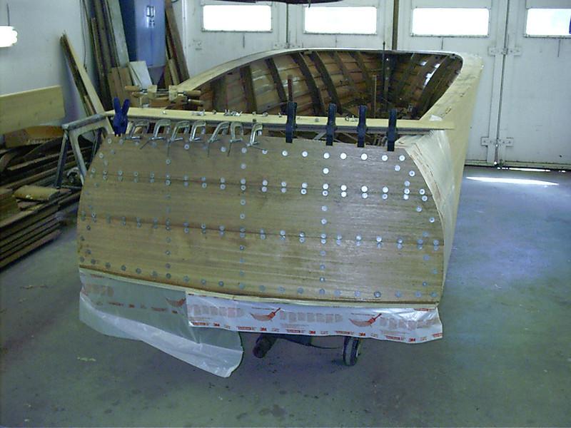 new transom planks installed