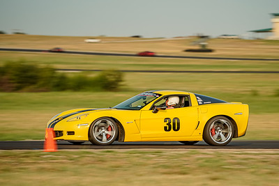 30 Yellow Corvette