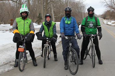 2014 Wheeling Wheelmen St. Patrick's Day Ride