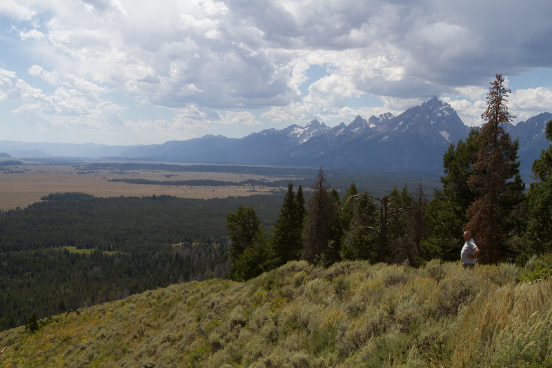The Grand Tetons from Signal Mountain