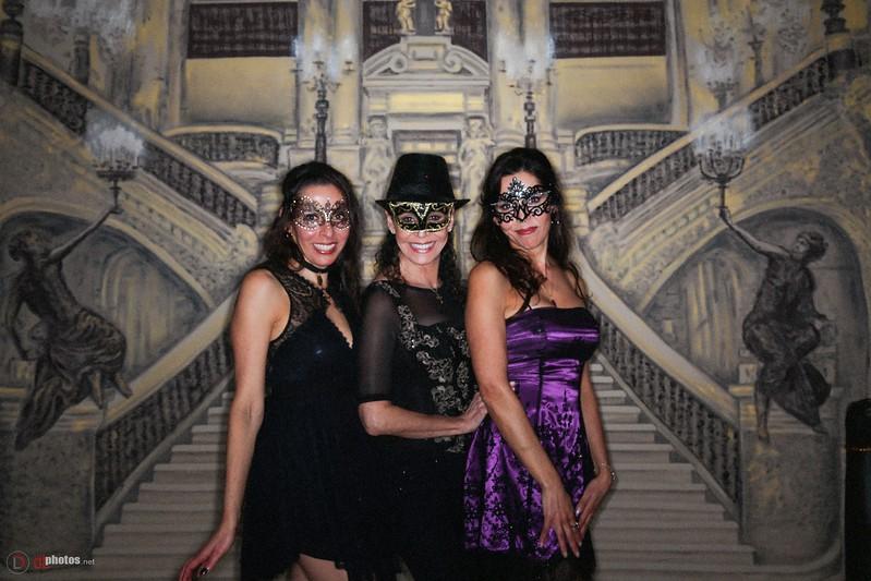 Alex + Andi's 50th Masquerade Party