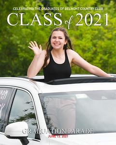 2021 Belmont CC Graduation Parade