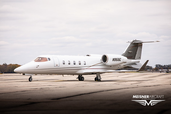 Lear Jet 60 N95SC (High Res w/Logo)