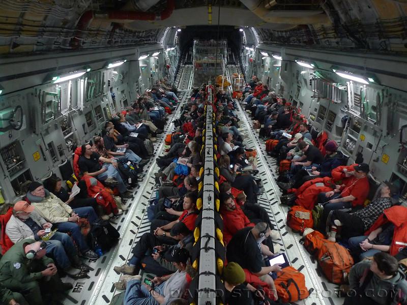 C-17 departure.