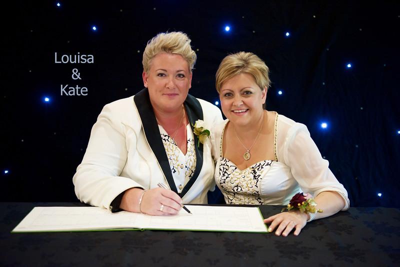 The Wedding of Louisa & Kate
