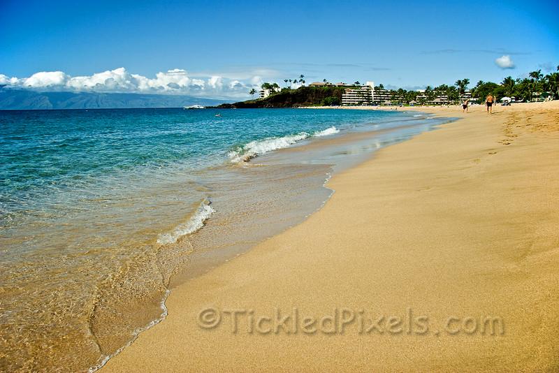Ka'anapali' Beach, Maui