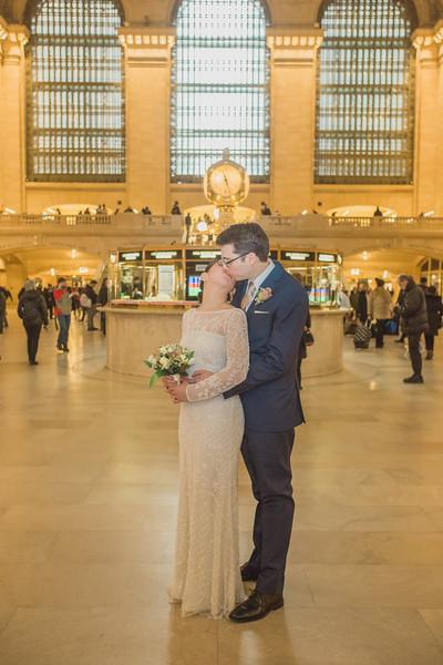 Grand Central Elopement - Irene & Robert