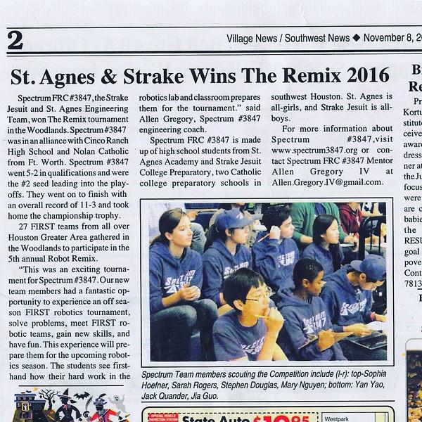 Remix 2016 - Village News Nov 8, 2016.JPG