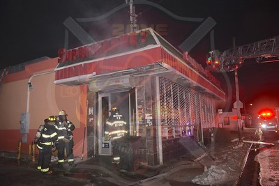 Westbury F.D. Working Fire   Union Ave.  3/10/18