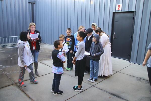 Washington Elementary ELLIS ISLAND Reenactment