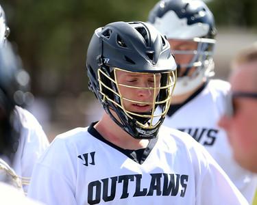Outlaw Boys Lacrosse vs Glencoe 3-23-15