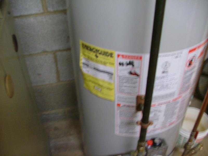 fuzzy hot water heater