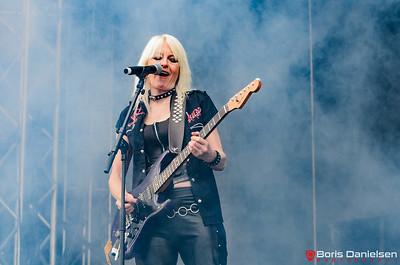 Girlschool @ Tons Of Rock Festival 2018.