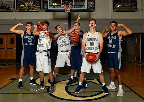 CC Boys Varsity Basketball Sr. Portraits 2019-9-29