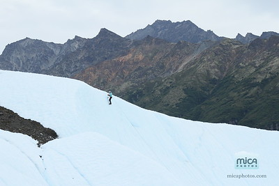 August 9 Ice Climb with Pete