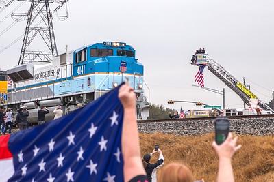 2018.12.06 George HW Bush Train