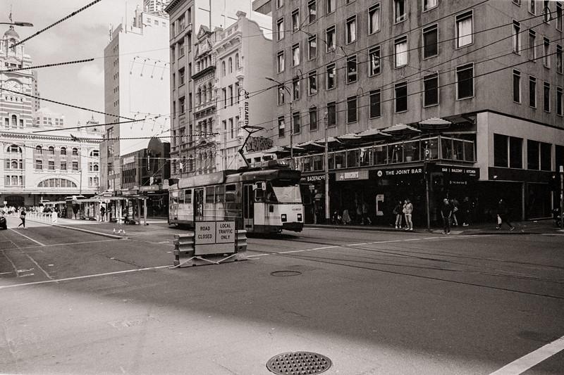 Flinders Lane/Elizabeth Street