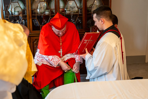Pontifical High Mass with Cardinal Burke