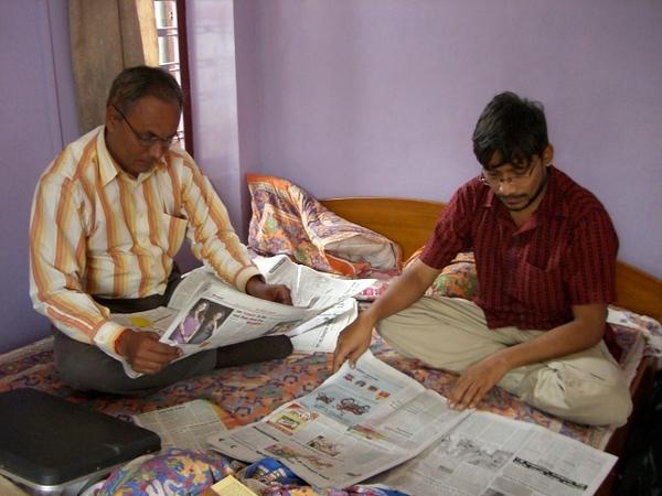Dr Swami Vivekanand Yadav MD and Vivek Umrao Glendenning