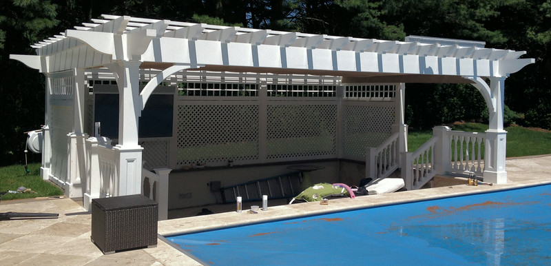 286 - Old Westbury NY - Pool Pergola