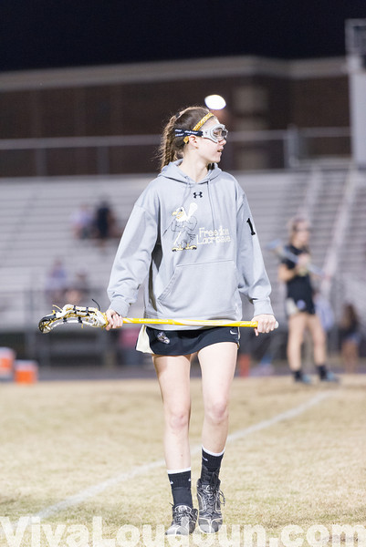 Girls Lacrosse: Freedom at Potomac Falls 4.2.14 (by Chas Sumser)