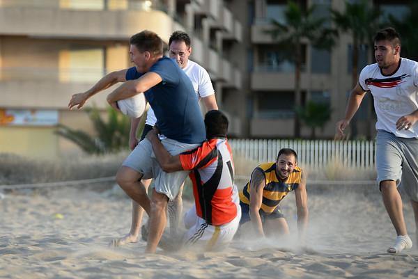 Denia Beach Rugby - June 19,  2014
