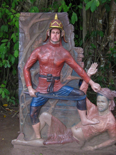 Scott the soldier, Wat Bang Goong