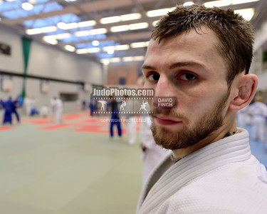 2013 Tonbridge Judo Training Camp 131220A5523: Nathan Burns, 24, who recently won a silver medal at the British Championships training at the Tonb....