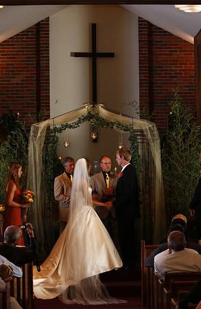 Tim and Jen's church wedding