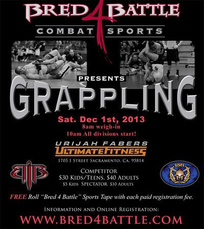 BRED 4 BATTLE - GRAPPLING -