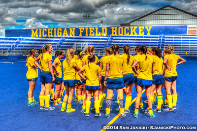 9-6-14 Michigan Field Hockey Vs William & Mary