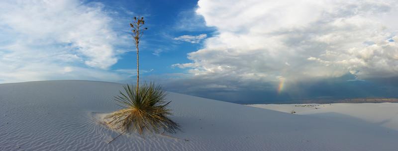 White Sands & Rainbow