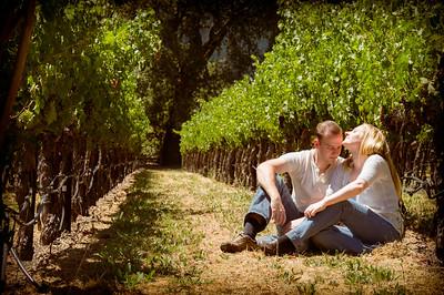Desiree & Nikos Engagement II - Napa Valley