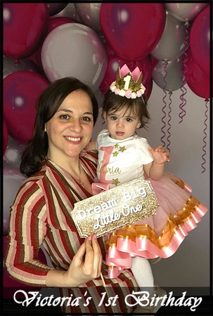 Victoria's 1st Birthday