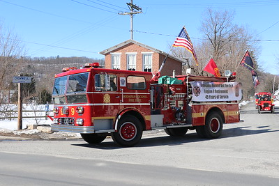 Orbisonia-Rockhill Engine 9 Retirement Parade