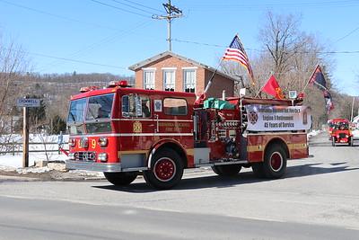 Orbisonia-Rockhill Engine 9 Retirement Parade