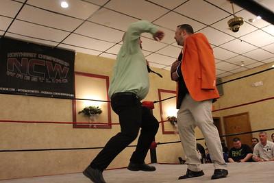 "In Ring Promo: Dean ""The Beast"" Livsley & Kevin Castro"