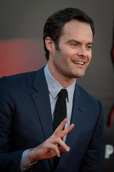 "WESTWOOD, CA - AUGUST 26: Bill Hader attends the Premiere Of Warner Bros. Pictures' ""It Chapter Two"" at Regency Village Theatre on Monday, August 26, 2019 in Westwood, California. (Photo by Tom Sorensen/Moovieboy Pictures)"